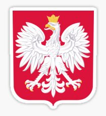 Coat of Arms of Poland Sticker