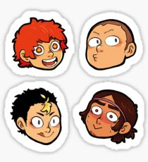 Karasuno Stickers -  Dork Squad Sticker