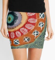 Circle upon Circle Mini Skirt