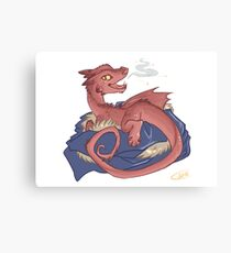 Baby Smaug - commissioned by smauglet Canvas Print