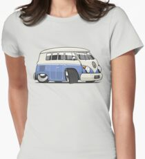 VW T1 Microbus cartoon blue T-Shirt