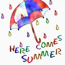 Jolly Brolly Summertime by Wightstitches