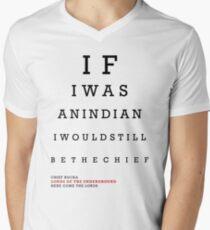 Indian Eye Chart Mens V-Neck T-Shirt