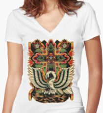 Rosicrucian Women's Fitted V-Neck T-Shirt