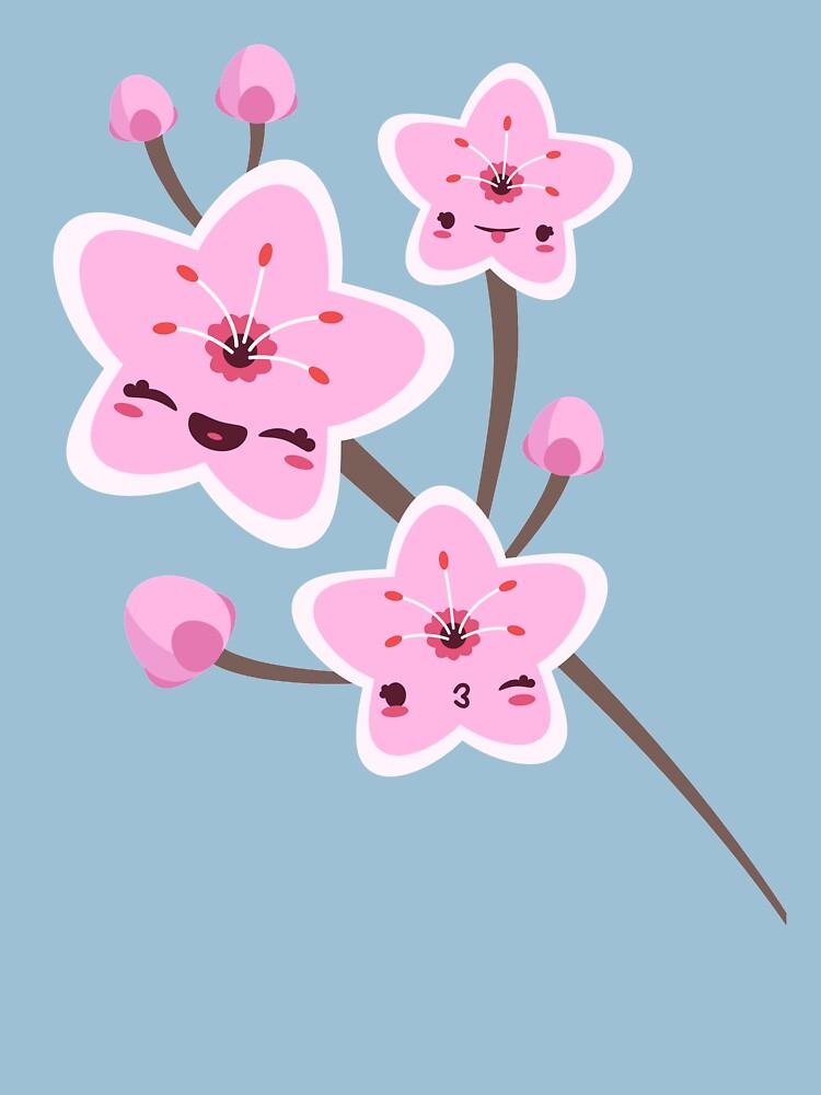 Cherry Blossom Smile by murphypop