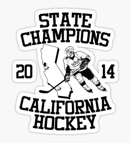 State Champs - Version 2 Sticker