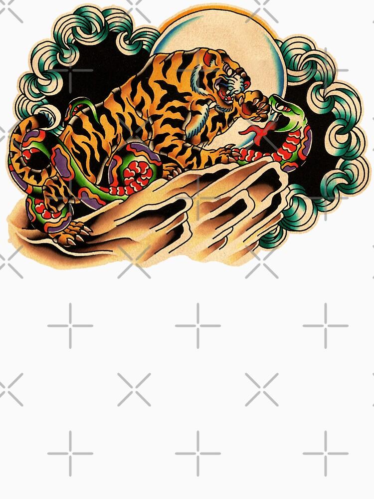 Tiger x Snake (Battle Royale) by chuckcarvalho