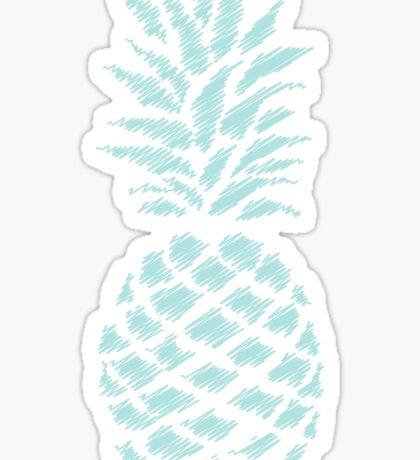 texture pineapple 2 Sticker