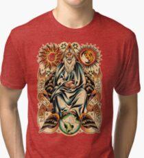 GOD I Tri-blend T-Shirt