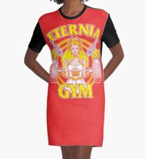 She-Ra Gym Graphic T-Shirt Dress