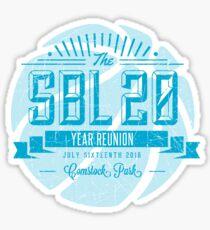 SBL 20 Year Reunion Sticker