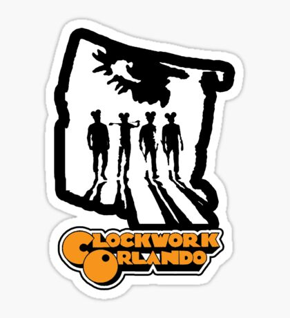 Clockwork Orlando group Sticker