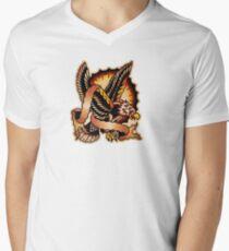 Spitshading 062 Men's V-Neck T-Shirt
