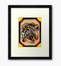 Spitshading 065 Framed Print