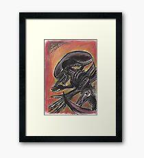 """""""Tribute to HR Giger""""  Framed Print"""