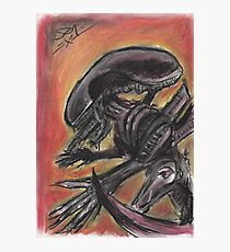 """""""Tribute to HR Giger""""  Photographic Print"""