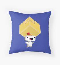 Cube Get! Throw Pillow