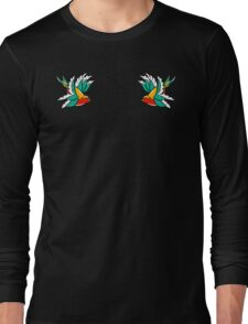 Swallow Tattoo Long Sleeve T-Shirt