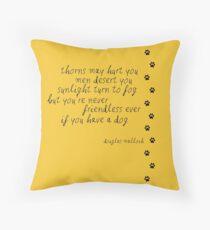 never friendless Throw Pillow