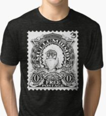 Mullumbimby Stamp Tri-blend T-Shirt