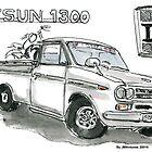 Datsun 1300 by Jorge Antunes