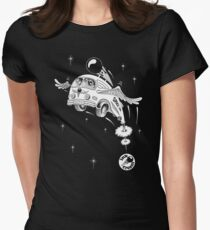 Inkcream Space Women's Fitted T-Shirt