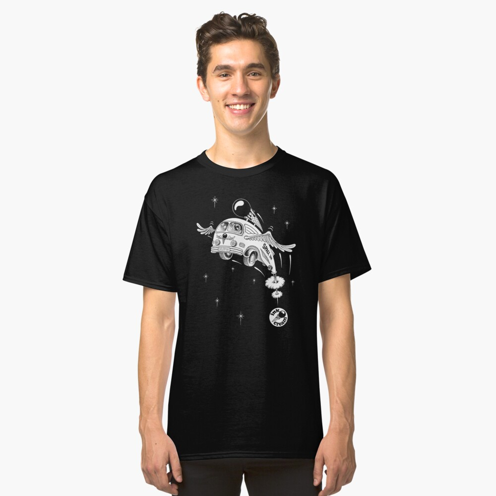 Inkcream Space Classic T-Shirt Front