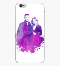 "Watercolor Linstead/Bushfer ""Chicago PD"" iPhone Case"