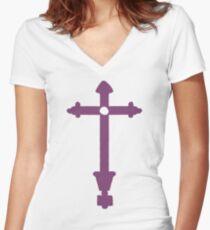 Gundham Tanaka's Shirt Women's Fitted V-Neck T-Shirt