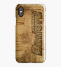 BINFORD WOOD iPhone Case/Skin