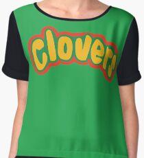 Clovers Bring It On Uniform Symbol Chiffon Top