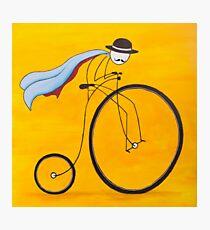 Bicycle Thief Photographic Print