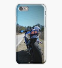 Motorcycle Suzuki Open Road iPhone Case/Skin