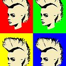 Punk Girl - Pop Art / Vers. I by Bela-Manson