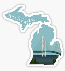Michigan: Mackinac Bridge Sticker