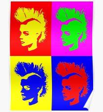 Punk Girl - Pop Art / Vers. II Poster