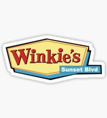 Winkie's Sunset Blvd Sticker