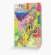 Abstract 360 Greeting Card