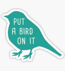 Pegatina Ponle un pájaro