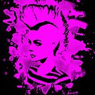 Punk Girl – bleached pink by Bela-Manson