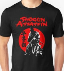 LONEWOLF AND CUB AKA SHOGUN ASSASSIN SHINTARO KATSU JAPANESE CLASSIC SAMURAI MOVIE  T-Shirt