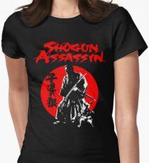 LONEWOLF AND CUB AKA SHOGUN ASSASSIN SHINTARO KATSU JAPANESE CLASSIC SAMURAI MOVIE  Women's Fitted T-Shirt