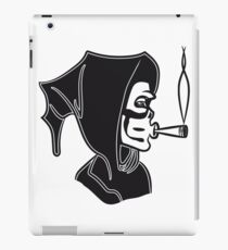 Death hooded kiffen joint iPad Case/Skin
