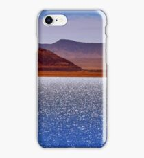 Pyramid Lake in the Wind iPhone Case/Skin