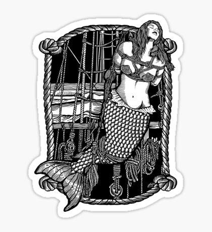 Bound Mermaid Sticker