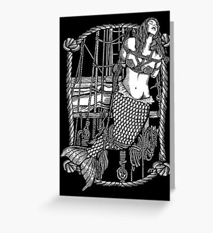 Bound Mermaid Greeting Card