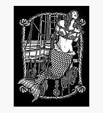 Bound Mermaid Photographic Print