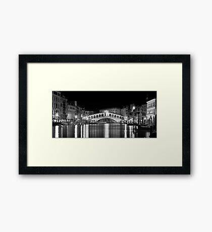 Venice by Night II Framed Print