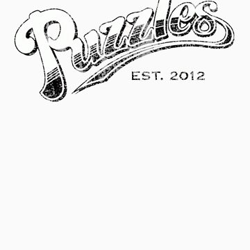 Puzzles Bar (Distressed) No Slogan Version by JordanDefty