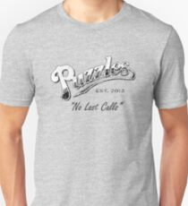 Puzzles Bar (Distressed) Slogan Version Unisex T-Shirt